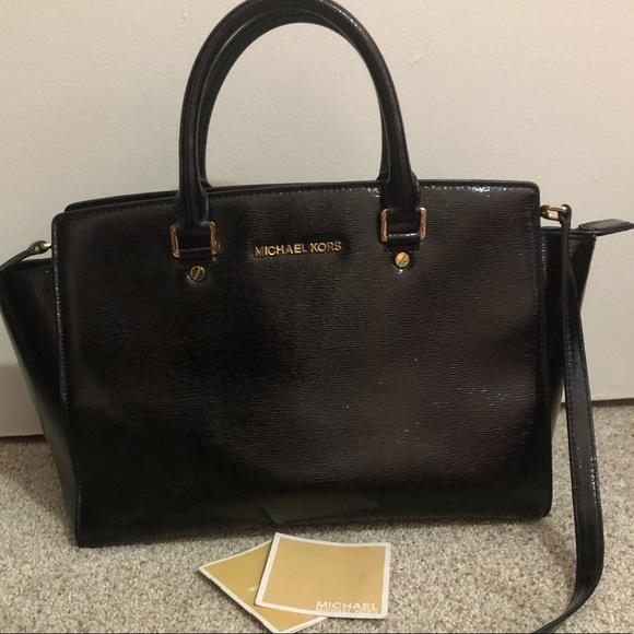 MICHAEL Michael Kors Handbags - Micheal kors purse with chain hanger selma